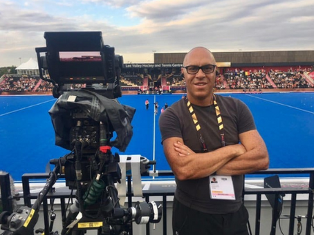 A Day in the Life of a Football Cameraman