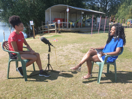 Our chat with Sports Broadcaster, Anne-Marie Batson