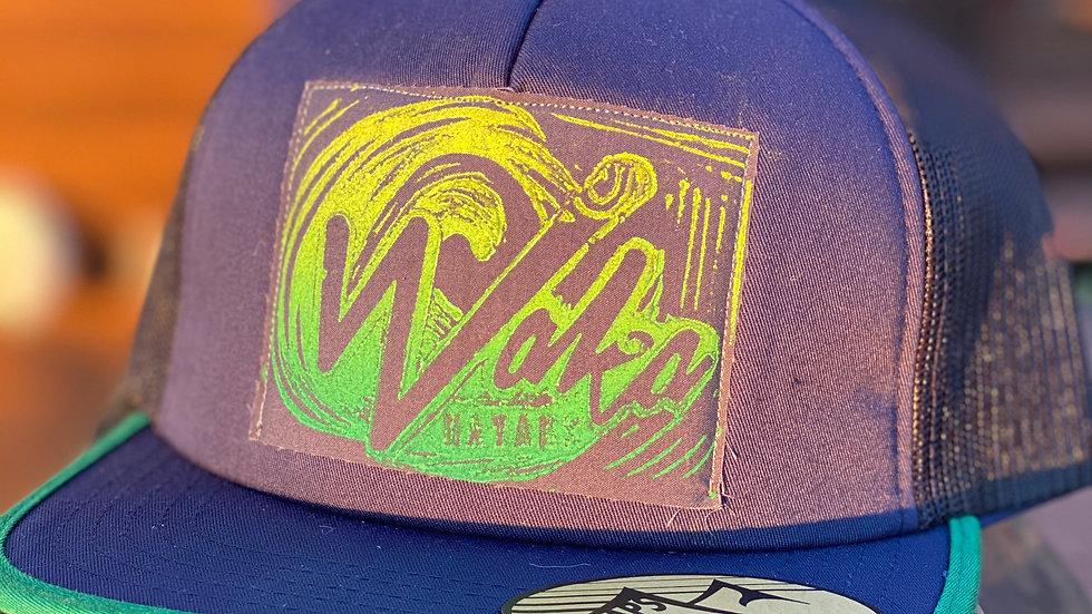 Navy/Green Trucker Hat
