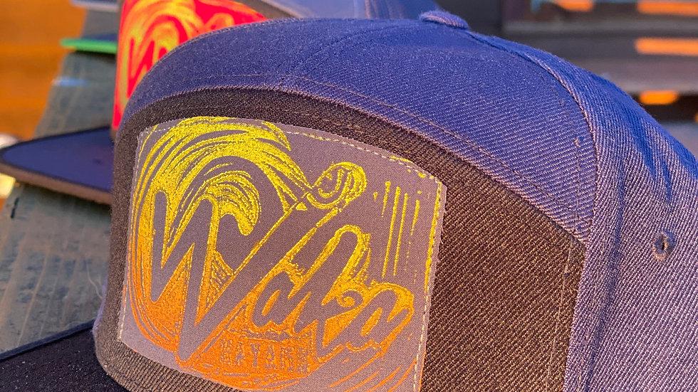 Navy/Black WOOL Hat