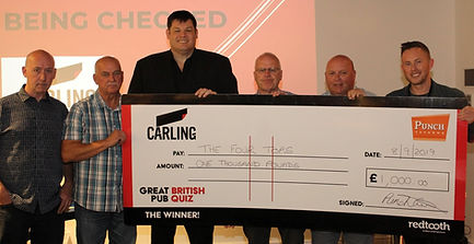 GBPQ Four Tops with cheque (3).jpg