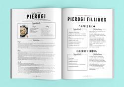 Cookbook Layout Design