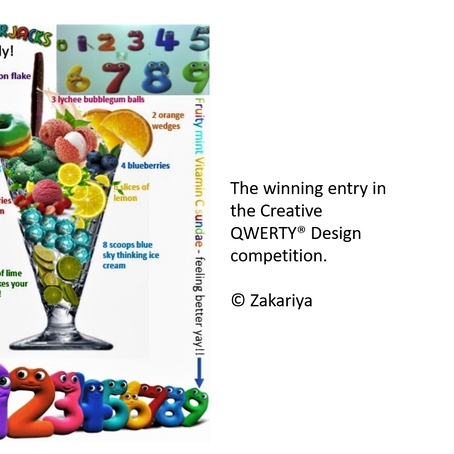 Creative QWERTY® and a Competition