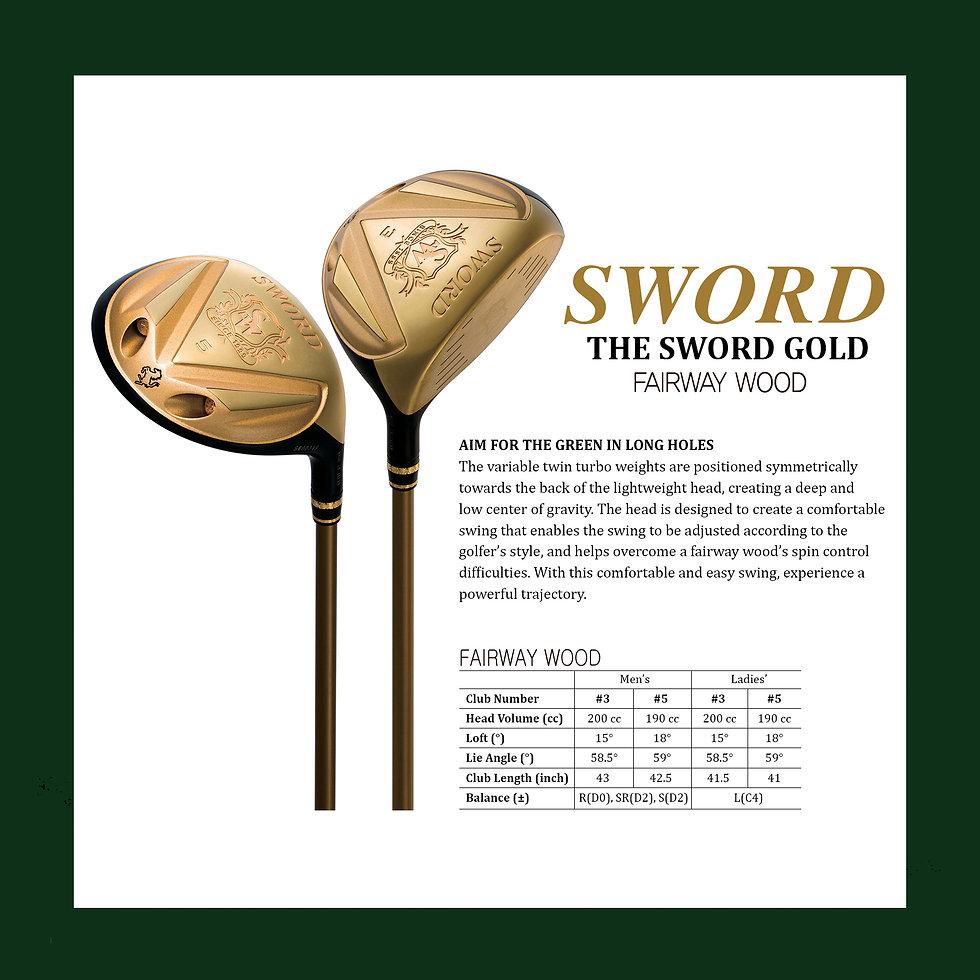 17. SWORD catalog THE SWORD GOLD WOOD.jp