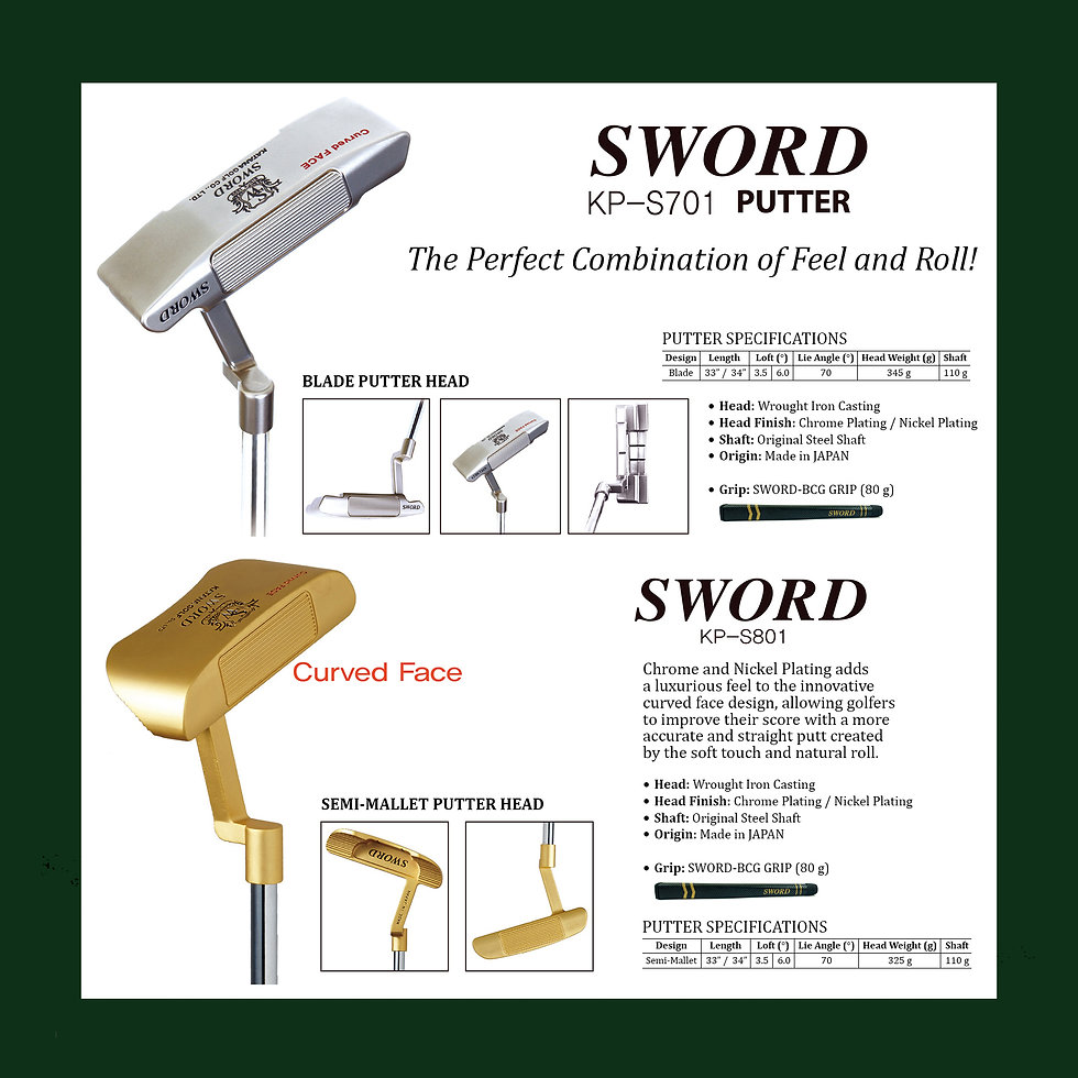 34. SWORD catalog BLADE & SEMI-MALLET PU