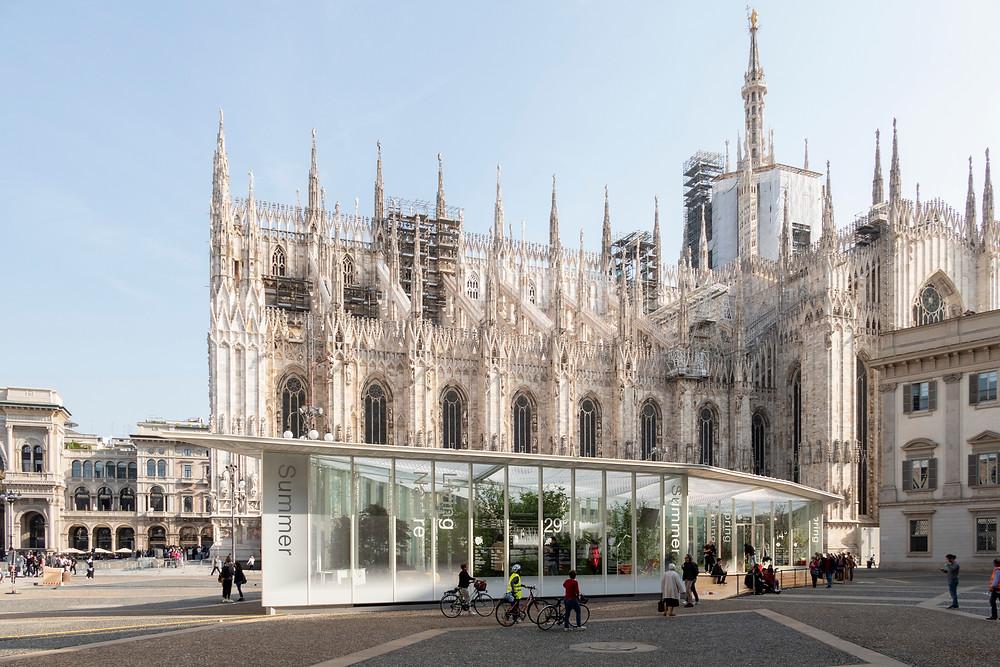 Pabellón Living Nature en el Duomo