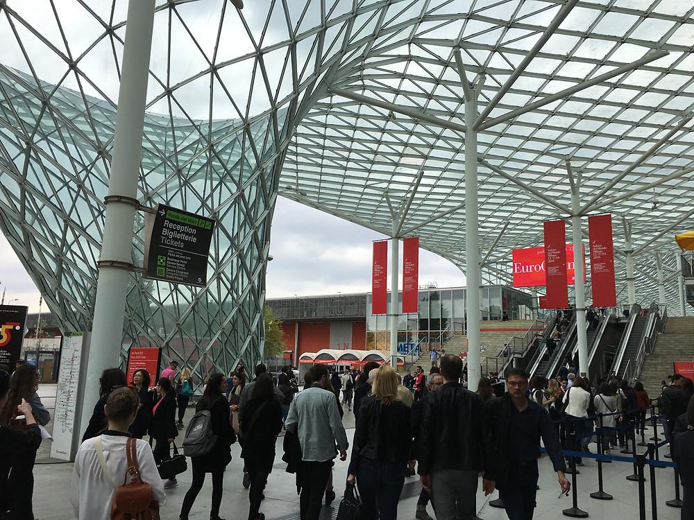 Feria de Milán en Rho.