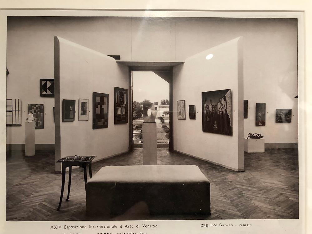 Foto di foto del ingreso del pabellón
