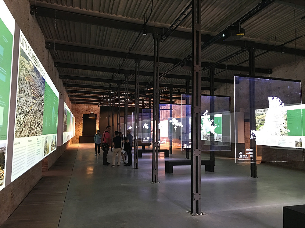 Exposición de Urban Age en el Arsenal.