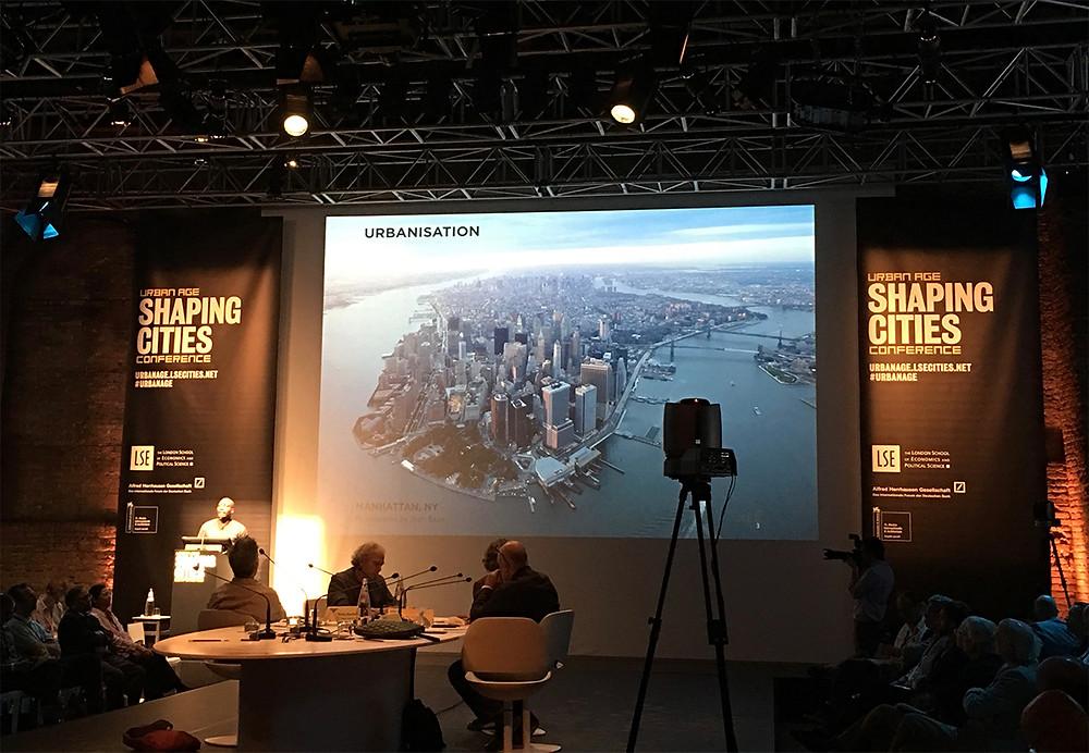 Shaping Cities o Modelando ciudades, inicio del convenio.