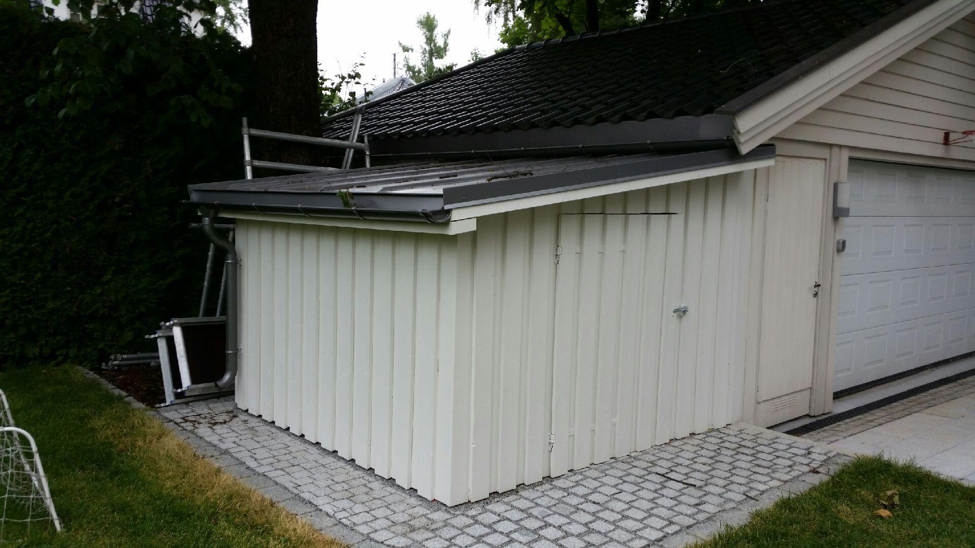 Privat hus på Frogner