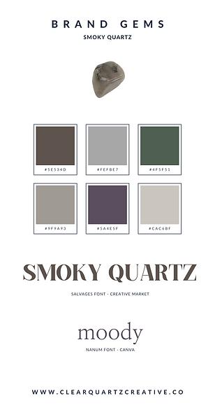 Smoky Quartz Brand Gems | Clear Quartz C