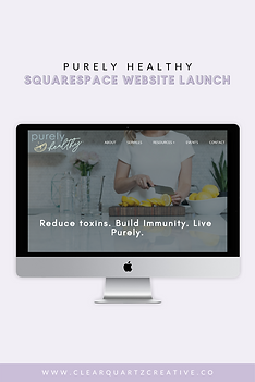 Purely Healthy Web Launch Pin #4 for Web