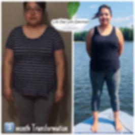 Lillianna Transformation Image - Live One Life Coaching