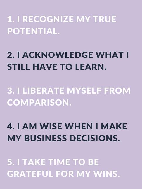 Improve Your Business With Confidence Affirmations