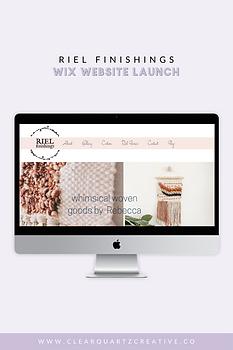 Riel Finishings Web Launch Pin #4 for Po