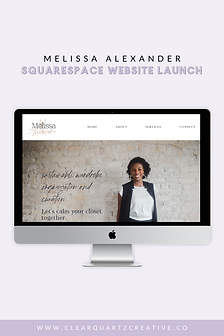 Melissa Alexander Web Launch Pin #4 for