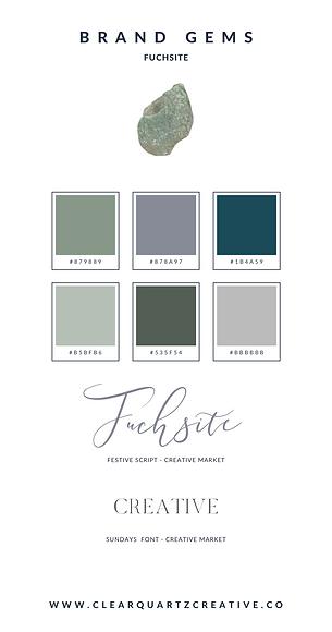 Fuchsite Brand Gem | Clear Quartz Creati