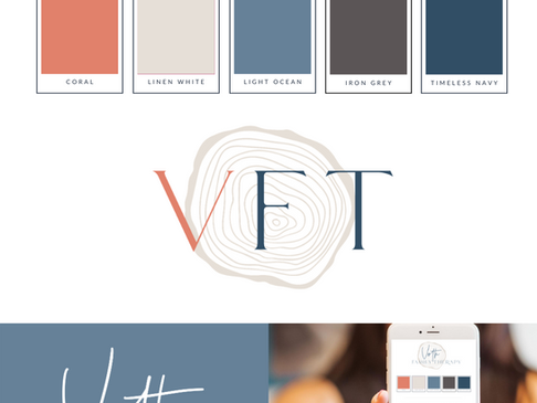 Voth Family Therapy Visual Branding
