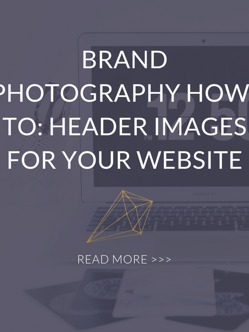 Brand Photography How-To: Header Images For Your Website