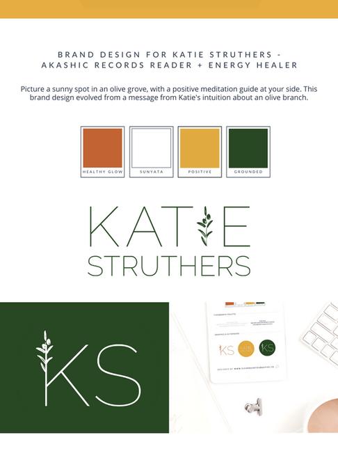 Katie Struthers Energy Healing Brand