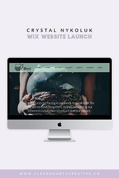 Crystal Nykoluk Web Launch Pin #4 for Po