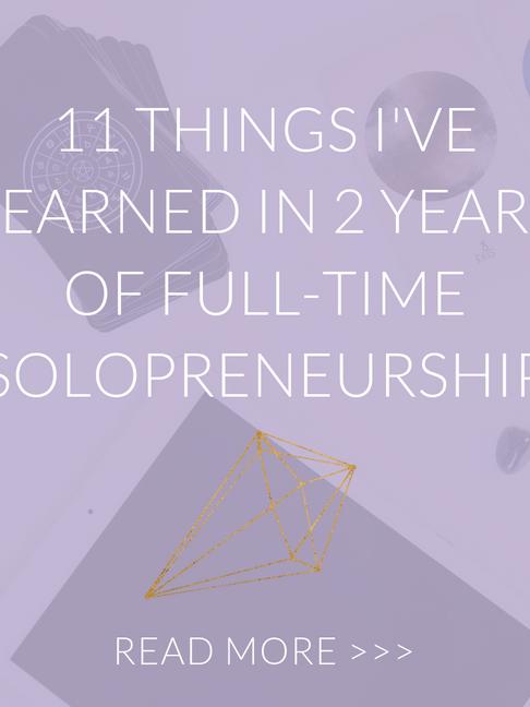 11 Things I've Learned in 2 Years of Full-Time Solopreneurship