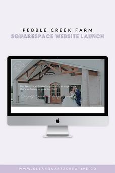 Wedding Venue Website on Squarespace | C