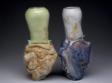 Kissing Vases 2008 | Crystal Nykoluk