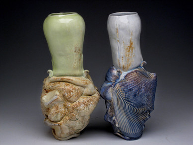 Kissing Vases 2008 | Crystal Nykoluk
