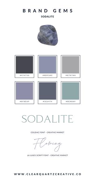 Sodalite Brand Gem | Clear Quartz Creati