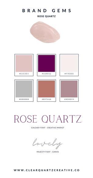 Rose Quartz Brand Gems | Clear Quartz Cr