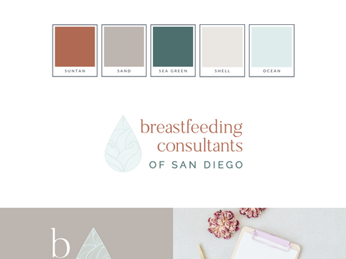 Breastfeeding Consultants of San Diego Brand Identity