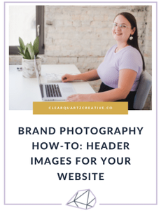 Brand Photography How-To: Header Images