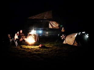 Campers and tents welcome