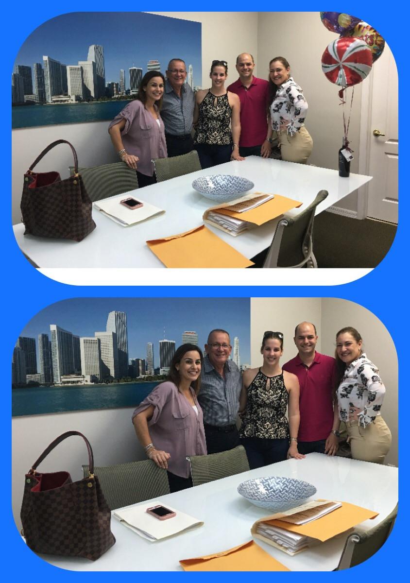 Felicitamos con gran alegria a los esposos Yadit & Rodney Nuñez en la compra de su nuevo hogar en Homestead, Florida. Muchisimas Felicidades para toda la familia.