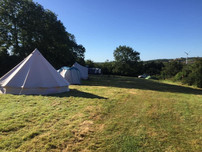 Morning campsite!