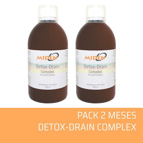 Pack 2 Meses Detox-Drain Complex