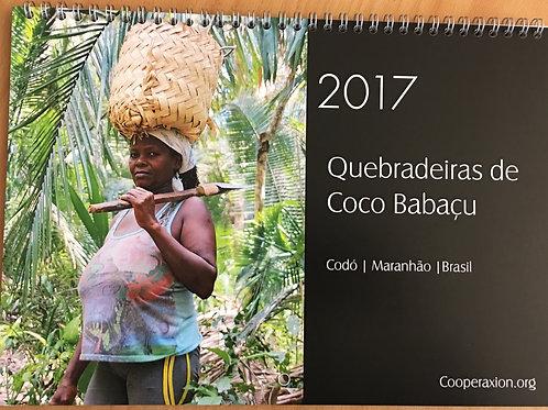 Calendário das Quebradeiras de coco Babaçu 2017
