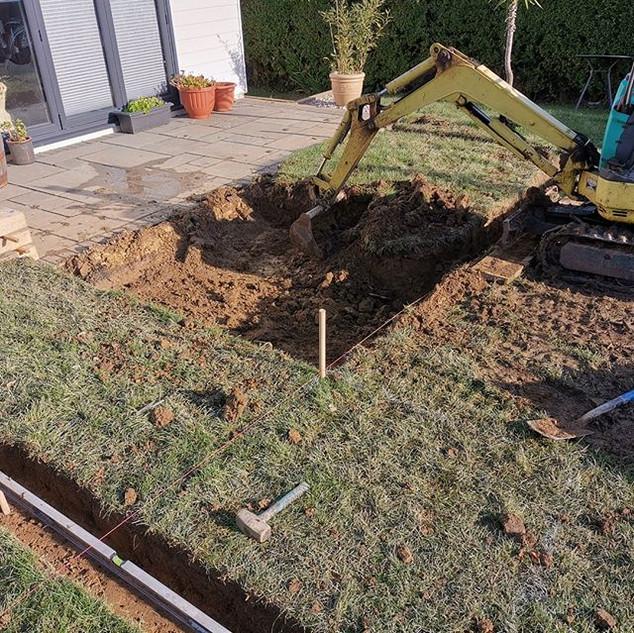 Excavation time ⛏️_#craftedlandscapes_#l