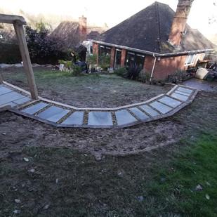 Semi Circle Path