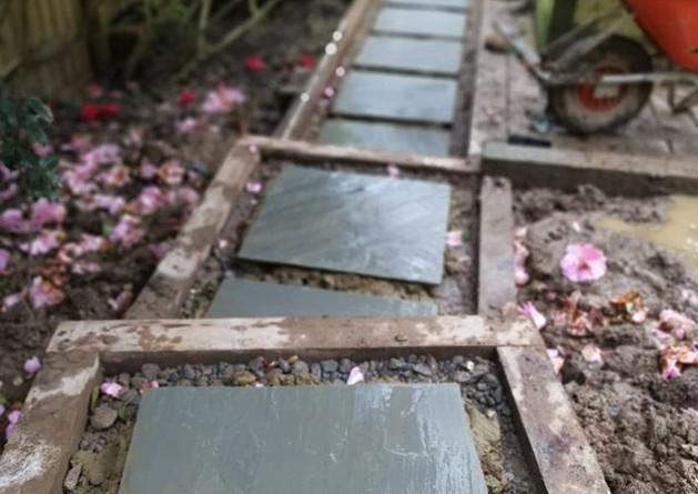 Steeping stone