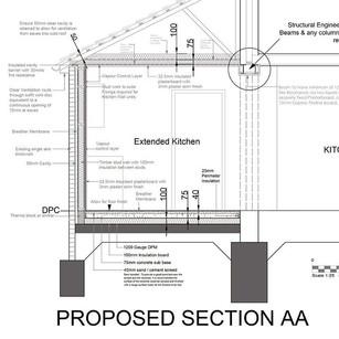 Detailed design for a Garage conversion