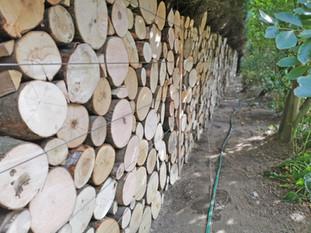 The Grange, Log Wall Complete 1.jpg