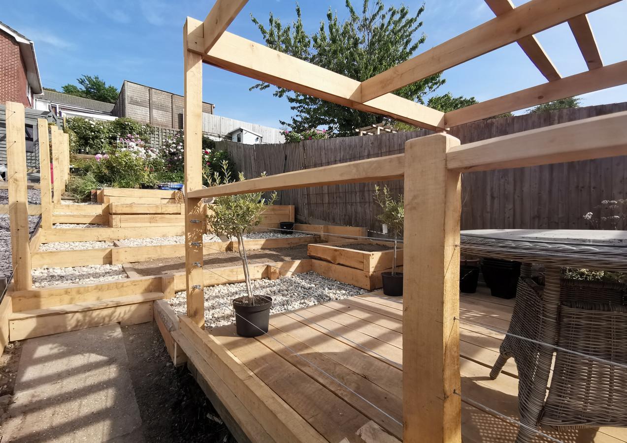 Chestnut Handrail