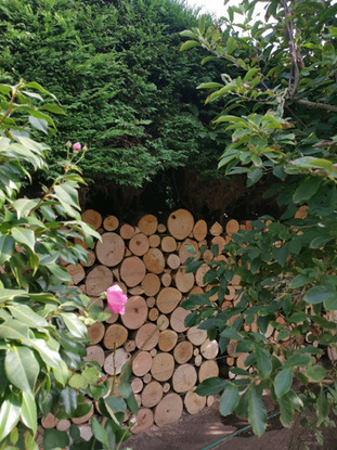 The Grange, Log Wall Complete 3.jpg
