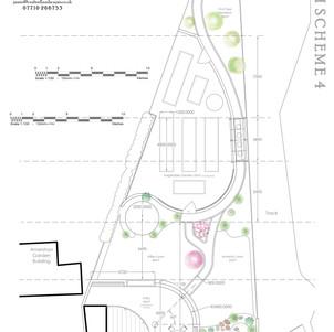Sunnycroft Garden Design SK4 Dimensions.