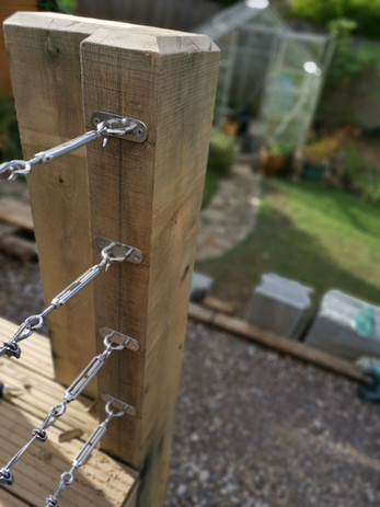 Tensioned Cable Ballustrade