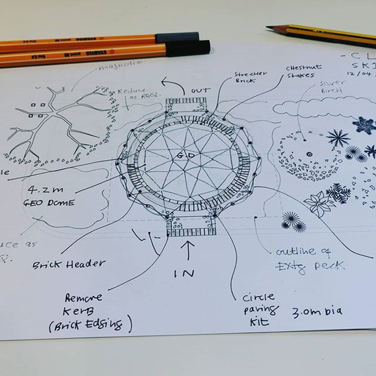Geo Dome Sketch