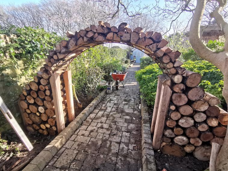Log Archway